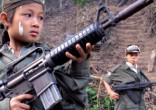 Image of Pope Francis calls us to pray for child soldiers.