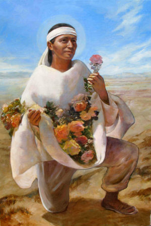On the Feast of St. Juan Diego, the 'Talking Eagle'