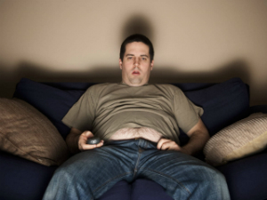 IT'S A FACT - If you live a fat and lazy life, you will die younger than you should, so why are you still on the couch?