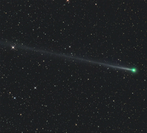Bad Omen? Green comet appears in the sky on New Year's Eve, is it a sign of things to come?