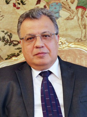 BREAKING NEWS Gunman assassinates Russian ambassador to Turkey