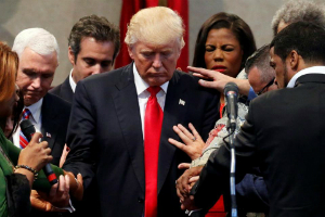 Trump inauguration sets record for most prayer -- let us pray for our president, and our country!