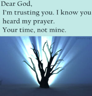 Your Daily Inspirational Meme: Dear God, I Trust You