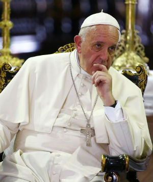Holy Father warns against the sin of gossiping
