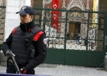 Image of Turkey ups its security at churches but patrons are still too afraid to attend.