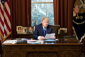 PRO-LIFE TRUMP! President signs pro-life order on first day