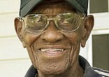 Image of Richard Overton, America's oldest living WWII veteran may lose the home he built himself (GoFundMe).