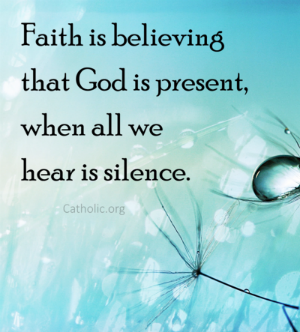 Your Daily Inspirational Meme: Faith Is Believing