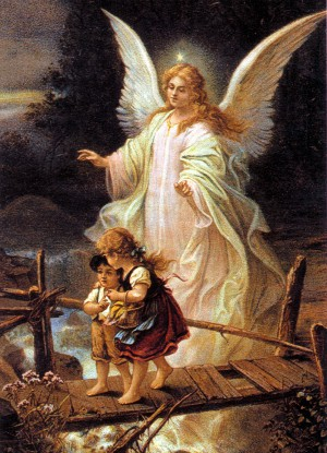 Astonishing footage catches clear glimpse of angel doing God's work