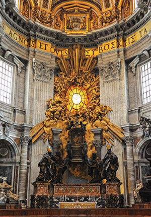 Pope Francis marks Feast of the Chair of St. Peter