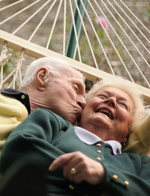 Elderly couple married over 75 years share their secret to lasting love