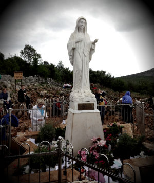 The Virgin Mary did NOT appear in Medjugorje, one bishop states.