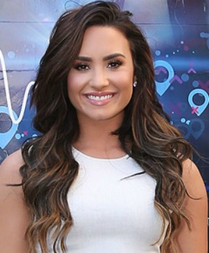 Demi Lovato thanks the Lord for freeing her from drug and alcohol addiction.