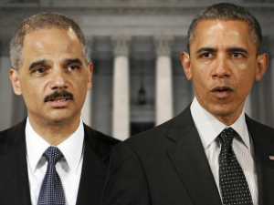 Eric Holder and Barack Obama are ready to team up again.