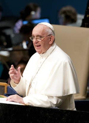 Pope Francis calls for the elimination of all nuclear weapons