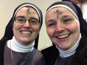 Is it appropriate to share pictures of your ashes on Ash Wednesday?
