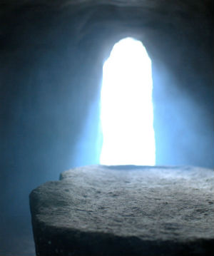 The empty tomb and the neatly folded burial cloths point to us that Jesus is physically alive.  His crucified body has been transformed.  What lesson is he teaching us by keeping his wounds intact?