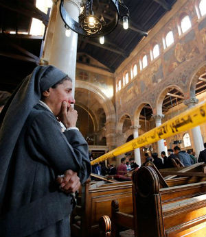 The Islamic State has claimed responsibility for two Coptic Christian church bombings in Egypt on Palm Sunday.