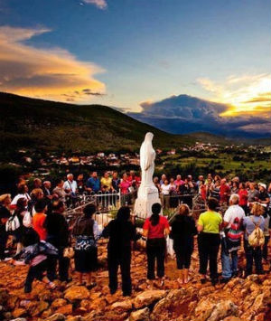 Since 1981, Marian apparitions have allegedly been appearing in Medjugorje.