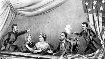 John Wilkes Booth, a convert to Catholicism, assassinated President Lincoln on April 14, 1865,