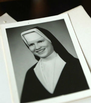 Sister Cathy was murdered in 1969 at 26-years-old.