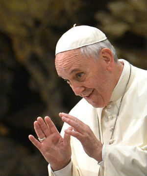 Pope Francis admits we are all sinners.