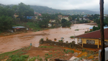 Flooding has caused a massive in Sierra Leone which has killed hundreds of people.
