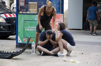 Terror attacks in Barcelona have killed 14 people. Pope Francis has appealed for peace and prayers.