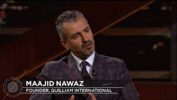 Maajid Nawaz has joined Christians in suing the organization for unfairly targeting them as extremists.