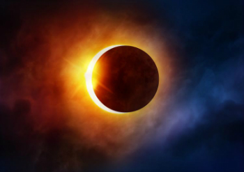 The eclipse has no meaning, other than the Moon passing in front of the Sun from the perspective of a person on Earth.