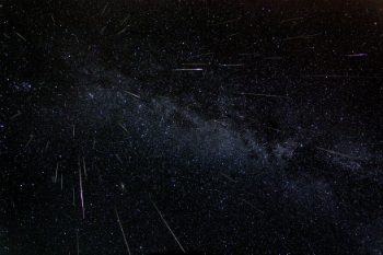 The Perseids occur annually, peaking around August 10.