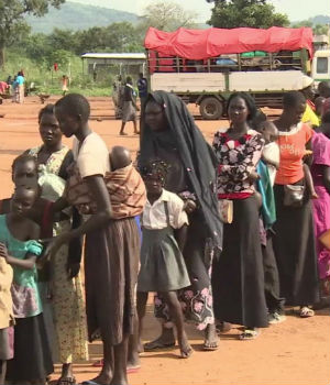 The tally of South Sudanese refugees entering Uganda hits one million (Photo by: Al Jazeera)