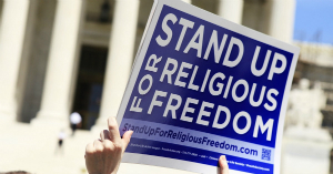 It's time to stand up for religious freedom.