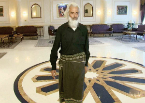Fr. Tom in Oman, just after his release. We are grateful to the Sultan Said al Said for his help.