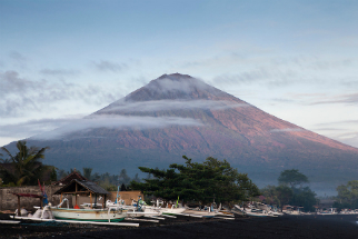 Over 120,000 people have been evacuated on the island of Bali, away from the slopes of Mt. Agung, which is about to erupt.