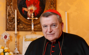 Cardinal Raymod Burke has been reappointed to the Vatican court.