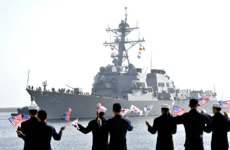 The U.S. Navy has started a 10-day exercise with North Korea.
