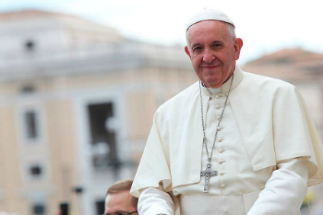 Pope Francis spoke about putting God first, and that it does not mean avoiding reality.