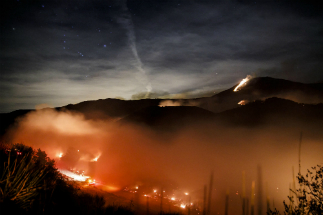 The Thomas Fire has become one of California's largest fires in history.