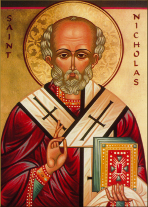 Saint Nicholas lived in the 4th century A.D.
