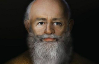 The face of St. Nicholas, reconstructed by scholars.