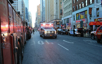 A terror attack on New York City failed this morning.