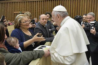 Alveda King met with Pope Francis to discuss pro-life issues.