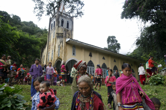 There are over 700,000 Catholics in Myanmar, but that is only 1.7 percent of the population.