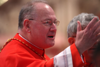 Cardinal Dolan has asked the faithful to pray against the forces of darkness.