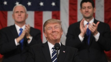 President Trump delivered a triumphant State of the Union speech that earned high approval ratings.