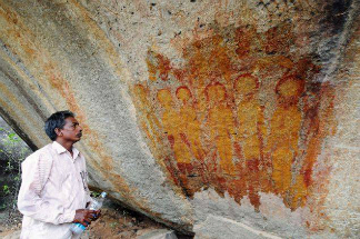 NASA has been asked to take a look at some notable petroglyphs in India.