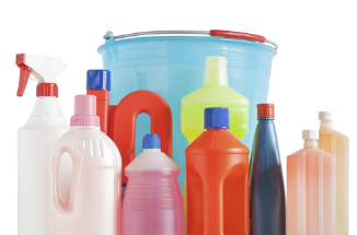 According to one study, regular use of cleaning supplies can be the same as smoking a pack of cigarettes per day.