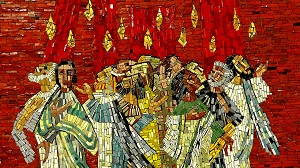 The Day of Pentecost Mosaic