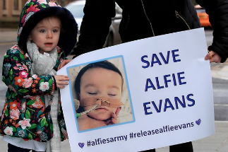 Thousands of people have joined 'Alfie's Army' as his parents seek to keep him on life support.